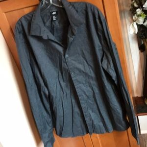 Like New H&M Easy Iron Dress shirt size XL